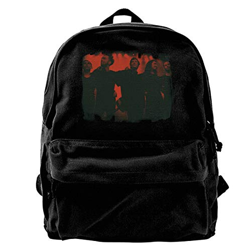 ClarenceJ.Ellis Unisex Woman Men Third Eye Blind Canvas Music Band Backpack Black
