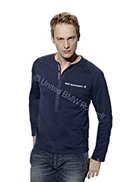 BMW Mens Motorsport Longsleeve Polo Shirt - X-Large