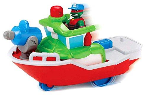 Nickelodeon Teenage Mutant Ninja Turtles Pre-Cool Half Shell Heroes Dive Boat with Diver Donatello Bathtub Vehicles and Figure
