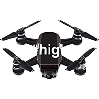 Skin For DJI Spark Mini – High | MightySkins Protective, Durable, and Unique Vinyl Decal wrap cover | Easy To Apply, Remove, and Change Styles | Made in the USA