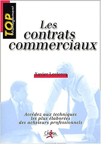 En ligne Les contrats commerciaux pdf