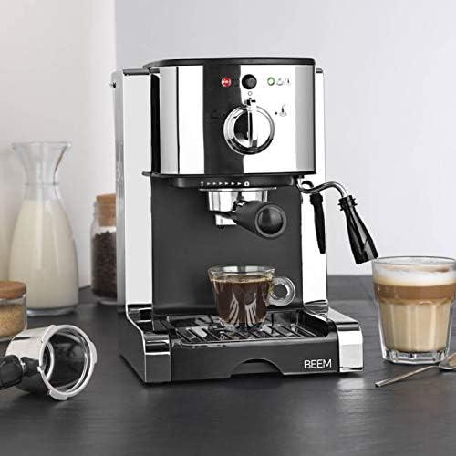 BEEM Espresso Perfect | Cafetera de espresso con accesorio para ...