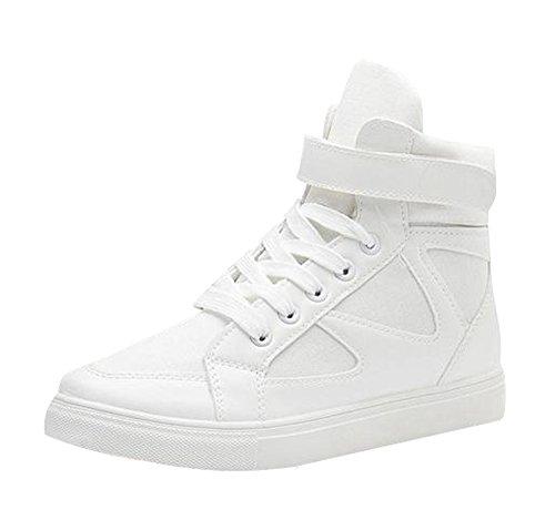 Dayiss Damen High Top Sneaker Leinenschuhe Sportschuhe