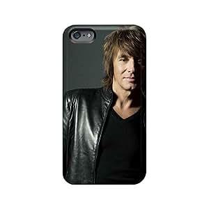 Protective Hard Phone Cases For Iphone 6plus With Customized Colorful Bon Jovi Image AlissaDubois