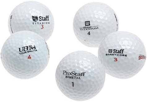 Wilson 48 Recycled Golf Balls in Mesh Bag