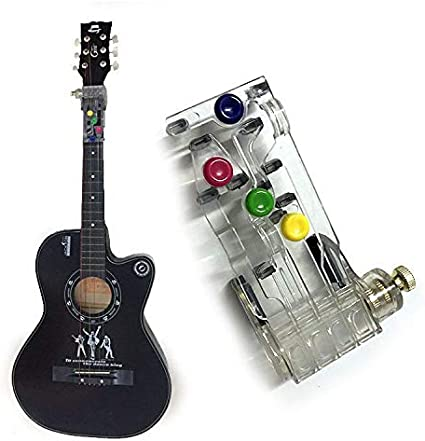 White1 adult and children chord practice tool for instructor beginners One-key chord assisted learning tool for guitar beginners just press a button to play