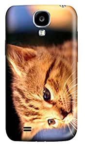Galaxy S4 Case, Personalized Cat for Samsung Galaxy S4 Protective 3D PC Cover
