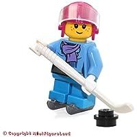 LEGO Holiday MiniFigure - Girl (w/ Scarf & Hockey Skates)...