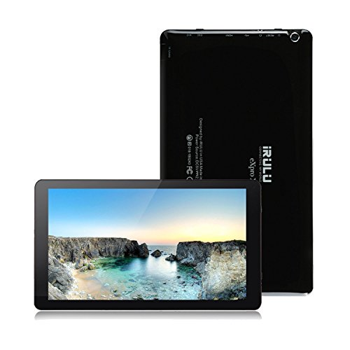 iRULU eXpro 2 Plus tablette (X2 Plus) 10,1 Pouces Tablette Android 5.1, Octa Core 1.8gHz 1024 * 600 Affichage 1 Go de RAM, ROM 16 Go, caméras doubles, Wifi Bluetooth Mini HDMI Full HD, Certifié GMS (16G, Noir)