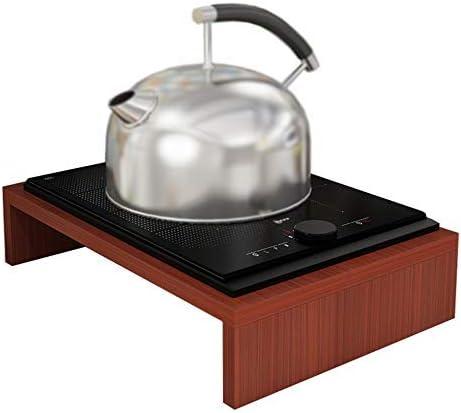 Zhoumei Sólido Cubierta Estufa de Cocina de inducción Cocina de Apoyo Cubierta encimera de Gas Natural Utensilios rackColor: B (Color : B)