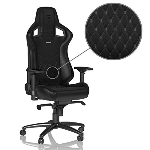 Price comparison product image noblechairs EPIC Series Real Leather Black