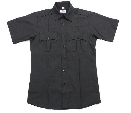 First Class Short-Sleeve Uniform Shirt 3XL (Black Utility Shirt)