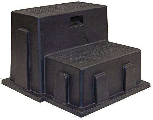 Buyers Products 3013658 Poly Step (Step, Poly, Utility, 2 Steps, Black) by Buyers Products