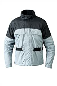 Mossi RX 1 Rain Jacket (Silver, Medium)
