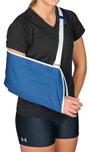 Leader Arm Sling, Blue, Universal (Single [Each-1]) (Personal Machine Pitching)
