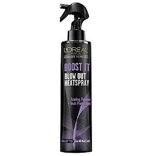 Loreal Paris Boost It Blow Out Volume Heatspray Pack of - It Out Iron