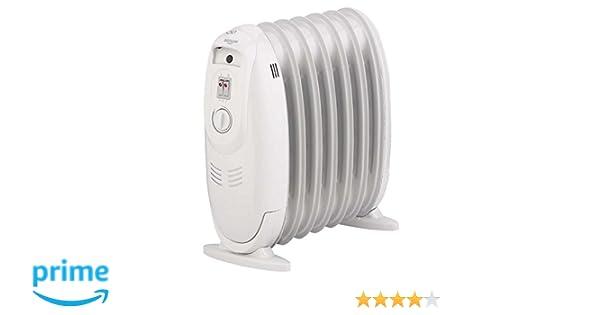 Bastilipo MRA-900 Radiador de fluido, 900 W, Otro, Blanco ...