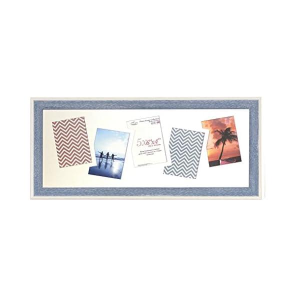 Inov8 Photo Frame, Austen Blue, -Inch, Pack Of 4