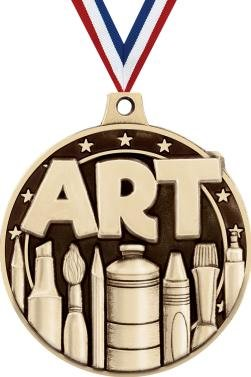 Gold Art Medals - 2