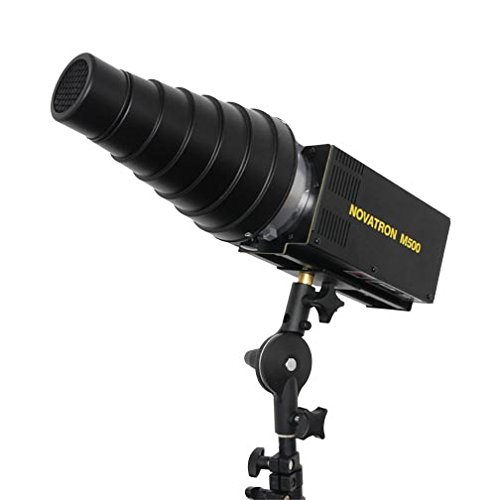 - Novatron Snoot with Honeycomb Grid for 2103FC Fan Cooled Bare Tube Head and the M150, M300 & M500 Monolights