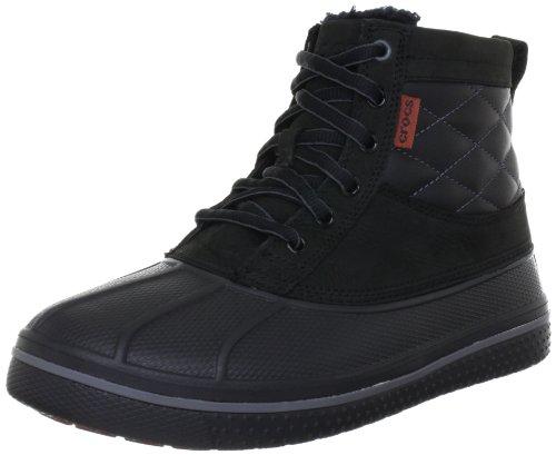 crocs AllCast Duck 12586 Herren Chukka Boots Schwarz (Black/Black 060)