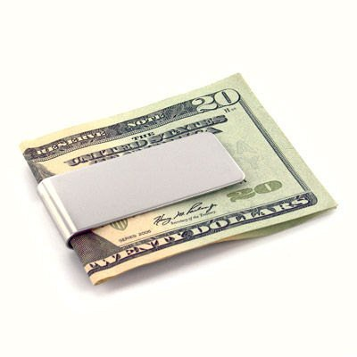 Money Clip Engraved Gifts (Personalized Stainless Steel Money Clip Free Engraving)