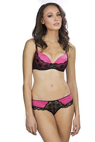 Hers by Herman Women's Sexy Cleopatra Push up Bra with La...