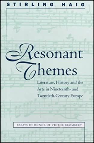 Ebooks para hombres descargar gratis Resonant Themes: Literature, History, and the Arts in Nineteenth-And Twentieth-Century Europe : Essays in Honor of Victor Brombert (North Carolina Studies in the Romance Languages and Literatures)