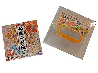 Komon Washi Chiyogami & Origami Paper Case Set