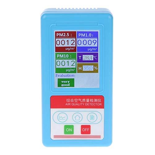 Analizador de Gas 9 Tipos Detector de Partículas Monitor de Calidad Del Aire