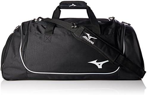 5cfb9da30348 Mizuno Team Duffle Bag, 26 x 14 x 14-Inch, Black: Amazon.com ...