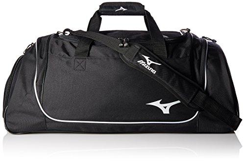 Mizuno Team Duffle Bag, 26 x 14 x 14-Inch, Black