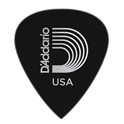 Planet Waves 6DBK7-25 Duralin Precision Guitar Picks, Extra Heavy, 25 Pack