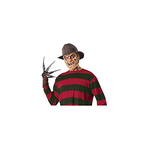 Freddy Krueger Costumes Girl (Deluxe Freddy Krueger A Nightmare on Elm Street Fedora)