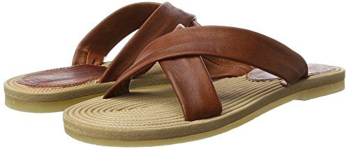 488 Brown tan 27128 Sandals Women''s Tamaris qwUYOgO