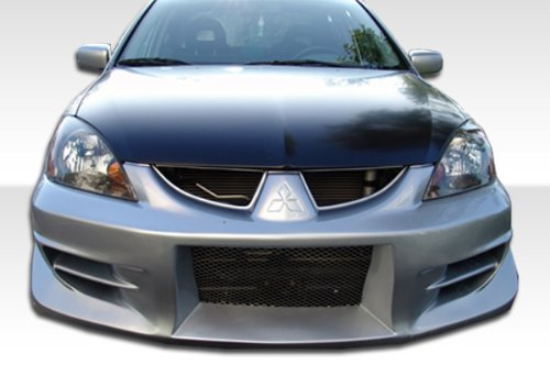 2004-2006 Mitsubishi Lancer Duraflex Walker Front Bumper Cover - 1 Piece