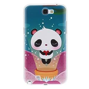 Lovely Panda Pattern Hard Case for Galaxy Note 2 N7100