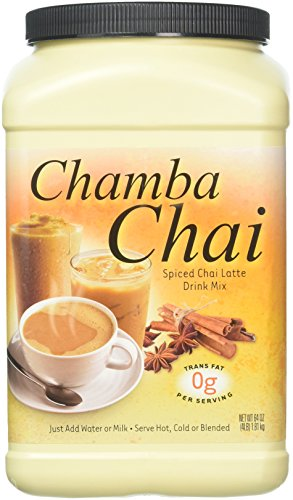 (Big Train Chamba Chai Spiced Chai Latte, Two  4lb. Jugs)