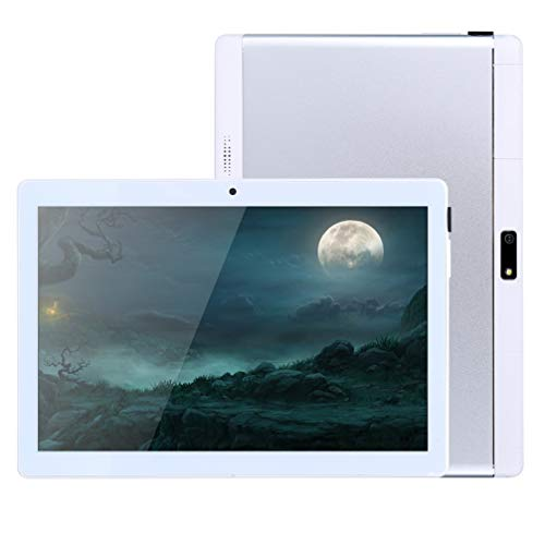 10 inch Android Tablet PC, 4GB RAM 64GB ROM,Octa-Core Processor with HD IPS HD Display,5G-WiFi,Bluetooth, GPS, GMS Certified, M7 (Silver)