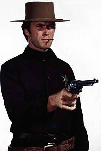 Clint Eastwood 24x18 Poster Hang 'Em High with Gun