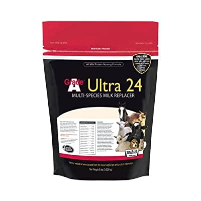 Milk Products 01-7428-0217 Livestock Milk Replacer, Ultra 24, 8-Lbs. by Milk Products