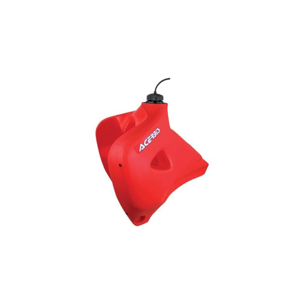 93-96 HONDA XR650L: ACERBIS GAS TANK 5.8 GALLONS - RED (RED)