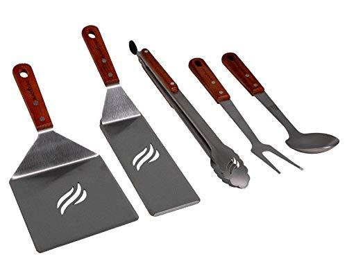- Blackstone 5039 5 Piece Tool Kit (Wood Handle