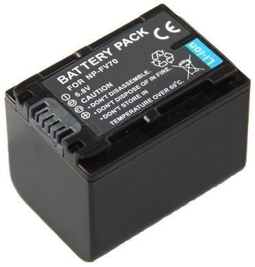 Baterí a de repuesto para el SONY fdr-ax53/AX53 Ultra HD Videocá mara –  -- baterí a para Sony NP-FV70 (1500 mAh) Incluye PATONA displaypad pabuTEL-Bundle