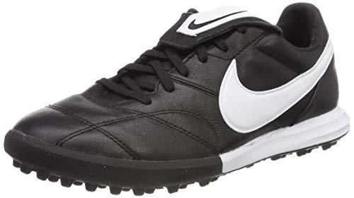 Nike Men's Soccer Premier II Turf Shoes (8 M US) Black/White