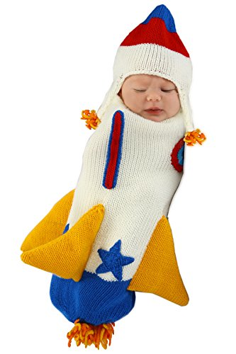 Princess Paradise Baby Boys' Roger The Rocketship Deluxe Costume, As Shown, 0/3M ()