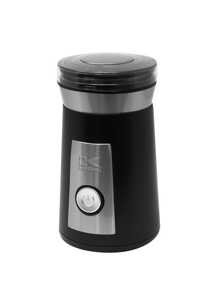Kalorik, CG 44047 BK, Coffee and Herb Grinder, Stainless Steel & Black