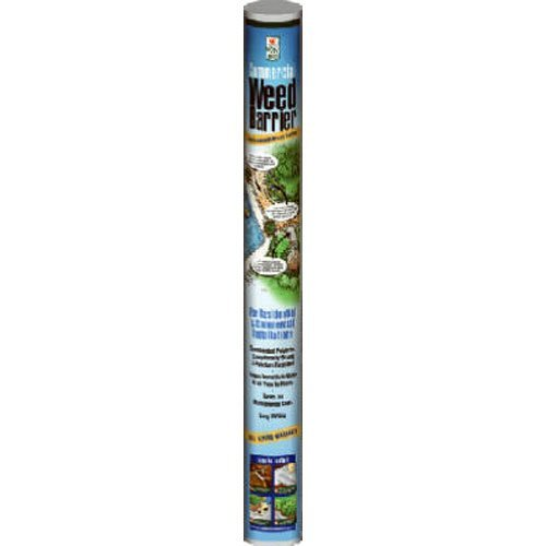 Easy Gardener Commercial Weed Barrier Landscape Fabric For Weed Control, 3 feet x 50 feet