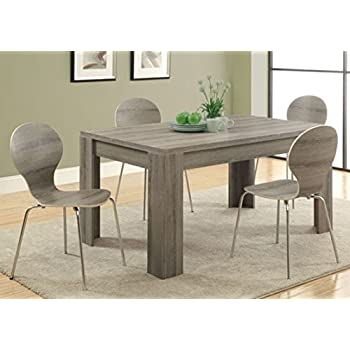 Amazon.com - Monarch Reclaimed-Look Dining Table, 36 by 60-Inch ...