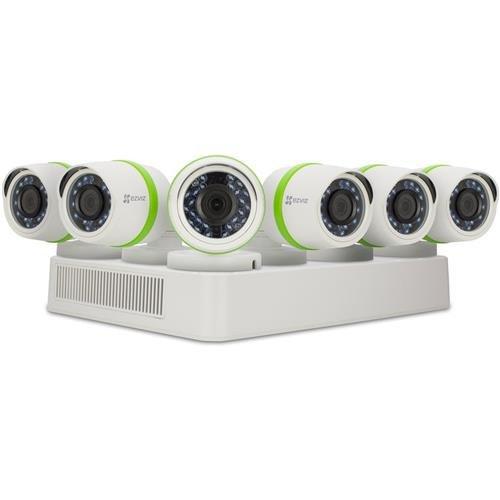 EZVIZ FULL HD 1080p Outdoor Surveillance System, 6 Weatherproof